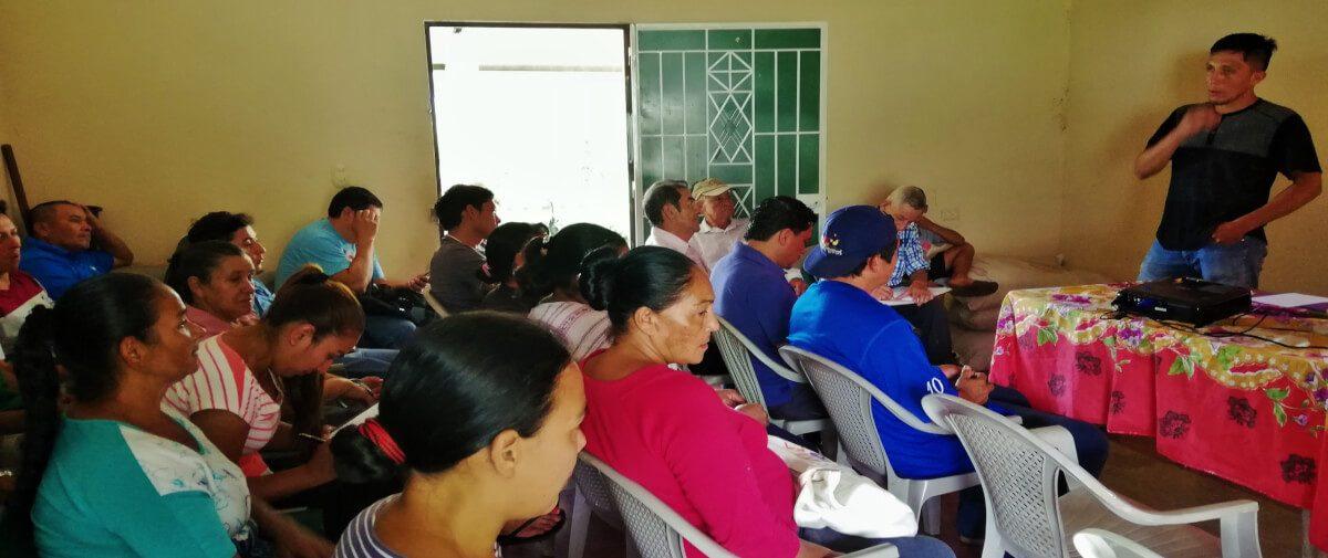 Organizaciones socias de ACICAFOC en El Salvador,realizan el primer informe sobre la ejecución de Sub Proyectos