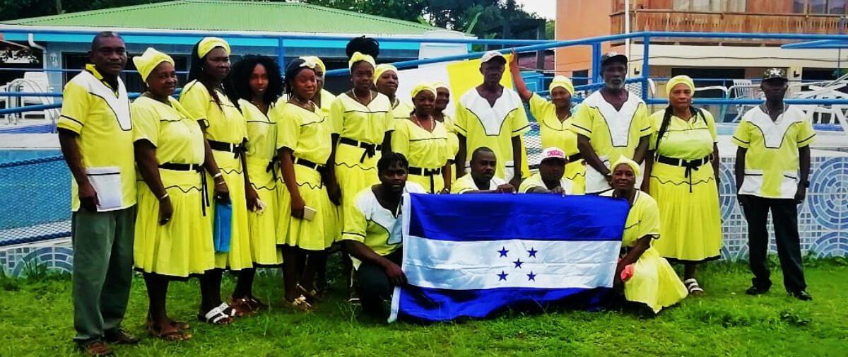 Intercambio cultural afro-garífuna hondureño con el pueblo afrocaribeño de Cahuita, Costa Rica