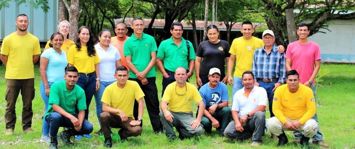 Intercambio entre representantes de Árbol Verde (Petén) con el Área de Conservación Guanacaste