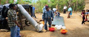 Entrega de Alimentos en Comunidades Kakawiras, Municipio de Cacaopera, Morazán,  El Salvador