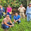 Jóvenes de la organización ASOPAC, se capacitan para realizar proceso de certificación orgánica