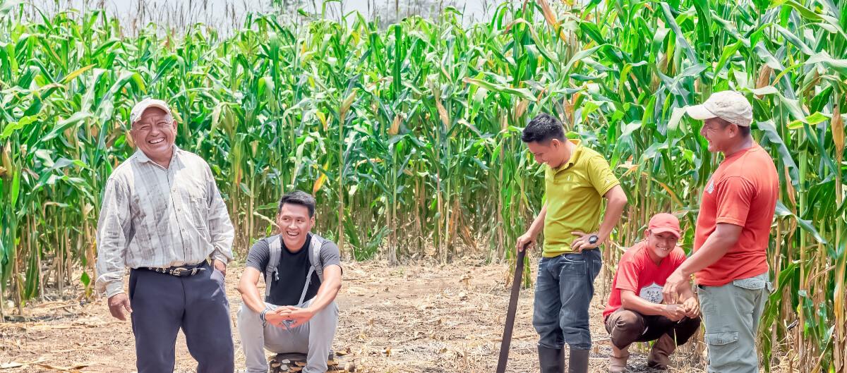 Trabajando por la seguridad alimentaria de los indígenas Queq'chi' Mayas en la Comunidad de Machakilha