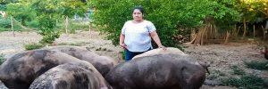 Mujeres socias de la Sureñita, mejoran la seguridad alimentaria mediante la construcción de estanques para cultivo de tilapia